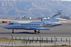 EC-HOB LEMD 17-01-2015 (Burmarrad) Tags: cn aircraft airline falcon airlines executive registration 43 dassault 900ex echob