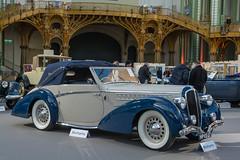 1946 Delahaye 135M Cabriolet (Pennock) - 150.000  200.000  (el.guy08_11) Tags: paris france ledefrance voiture collection 1946 delahaye pennock