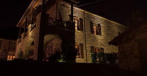 Casa Valle Erro di notte