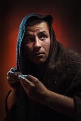 Addicted - Tobacco (Tomas.Kral) Tags: auto light red portrait color self canon studio 50mm diy czech prague cigarette hard diagram addicted cz tobacco source strobe speedlite strobist yongnuo yn560ii dedpxl09
