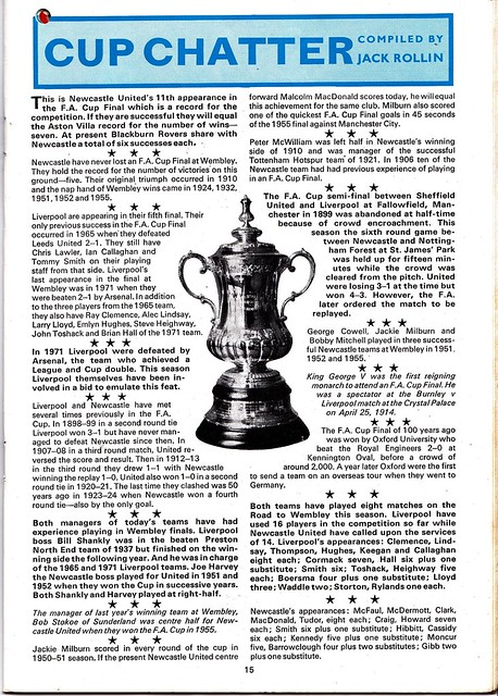 Liverpool vs Newcastle United - 1974 FA Cup Final - Page 15