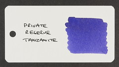 Private Reserve Tanzanite - Word Card
