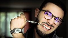 Just Me (rix1284) Tags: portrait man france male beautiful beauty face fashion glasses model models style lunettes homme