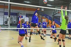 IMG_1101 (SJH Foto) Tags: school girls net club high team jump shot action teenagers teens battle spike midair volleyball block tweens