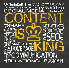 content is king (Accademia d'Arte & Design Leonetto Cappiello) Tags: marketing blog media king commerce technology web forum internet content social communication business relationship website online network concept share global connect seo advertise