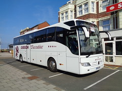 BF16XPZ Gibson Executive on Burlington Road in Blackpool (j.a.sanderson) Tags: mercedes benz coach gibson blackpool renfrew coaches tourismo mercedesbenztourismo gibsondirect bf16xpz mercedesbenztorismo