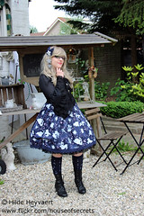 Agnes (House Of Secrets Incorporated) Tags: fashion events thenetherlands lolita agnes egl teaparty houten gothiclolita jfashion eglcommunity