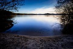 Lac des settons (lcnb) Tags: nature montagne eau lac paysage nuit coucherdesoleil morvan tang poselongue lacdessettons