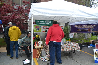 Waltham Farmers' Market Information Booth