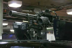 2010 SHOT Show - Minigun Mounted in GMC Yukon (Tac6 Media) Tags: training gun lasvegas nevada rifle nv weapon pistol shooting shotgun revolver handgun machinegun nra minigun 2010 firearm guncontrol assaultrifle assaultweapon shotshow nationalrifleassociation nssf nationalshootingsportsfoundation 2010shotshow mediadayattherange