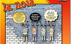 Dei nuovi candidati a Re di Roma quanti si azzarderebbero a scendere in strada nudi? (SatiraItalia) Tags: humor cartoon vignette satira