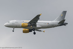 EC-MKX - 2007 build Airbus A319-111, on approach to Runway 23R at Manchester (egcc) Tags: man manchester vy airbus lightroom a319 ringway egcc vueling vlg a319111 3054 vuelingairlines vuelingcom eckbj eiept ecmkx
