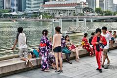 Esplanade Waterfront (chooyutshing) Tags: singapore marinabay esplanadewaterfront japanesefestivalofarts