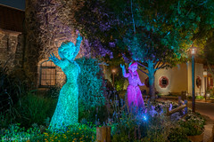 A Tale of Two Sisters (keenan.disphoto) Tags: anna frozen epcot topiary florida waltdisneyworld elsa hdr flowergardenfestival baylake