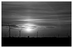 Black & White Energy (TAC.Photography) Tags: sunrise generators windturbines windgenerators