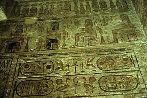 "Ägypten 1999 (101) Assuan: Im Großen Tempel von Abu Simbel • <a style=""font-size:0.8em;"" href=""http://www.flickr.com/photos/69570948@N04/27366116276/"" target=""_blank"">View on Flickr</a>"