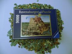Tower of Babel, Bruegel the Elder, Ravensburger, 9000 pieces (richieinnc) Tags: tower puzzle elder jigsaw 9000 babel ravensburger bruegel