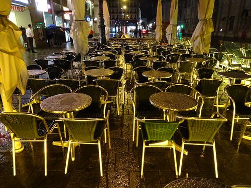 Wien, 1. Bezirk (the art of very renowned nighttime places of Vienna), Stephansplatz