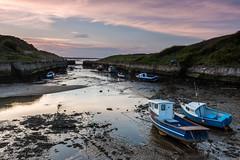 Seaton Sluice Sunset (Craig Richardson) Tags: sunset sea beach coast d750 northeast 2470mm seatonsluice