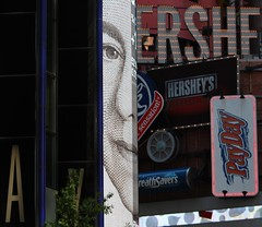 ERSHE Broadway Slivers (m.gifford) Tags: city nyc urban usa newyork broadway queen hersheys payday queenelizabeth