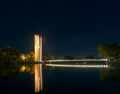 Carillon at Night: (AutisticReaction) Tags: architecture night pentax canberra carillion lakeburleygriffin da1224mm nationalcarillion pentaxk3