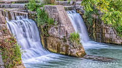 Waterfalls in Port Dalhousie (Chris Liszak Photography) Tags: canada color colour nature water wow photo waterfall niagara sharp waterfalls stunning portdalhousie nikond7100 chrisliszakphotography