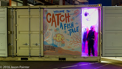 Catch: A Fish Tale (Oliver Tanner/Sindy Sinn/Mark Dyson) (Japester68) Tags: city light sculpture fish festival night bay harbor harbour box outdoor sydney vivid australia container event projection nsw aus 5star