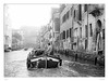 Early morning in Venice (sdc_foto) Tags: morning venice blackandwhite bw boot canal pentax 2009 pentaxart sdcfoto