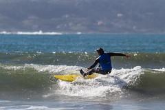 Surf en la Madorra (dfvergara) Tags: espaa azul mar agua surf playa galicia olas paxon tabla espuma surfista nigrn surfero madorra