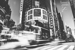 Takara Media Photoshoot. Times Sq Billboard (JustinTshockley.com) Tags: new york city nyc morning justin light sky white motion blur tower yellow speed painting square t photography japanese media day afternoon bright cab taxi fast billboard company advert daytime times sq takara blueblack shockley jtsfashion nypleasevisitjustintshockleycomtwittercomjtsfashionwwwlinkedincominjtshockleyhttpjustinographytumblrcomhttpwwwflickrcomphotosneohxchttpsmyspacecomjustintshockleyhttpwwwpinterestcomneohxcinstagramneohxc