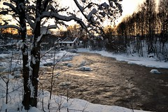 A winter view of Rapid Vantaankoski in River Vantaanjoki (Vantaa, 20120128) (RainoL) Tags: finland river geotagged vantaanjoki january u vanda fin rapid vantaa 2012 uusimaa 201201 20120128 geo:lat=6029492900 geo:lon=2486593900