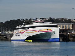 Condor Liberation (Coco of Jersey) Tags: lines st ferry boat marine ship jersey portsmouth condor ci weymouth freight guernsey channel poole roro malo austal incat