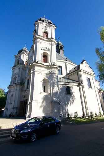 Kościół popijarski Rozesłania Apostołów od wschodu