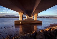 Getting Over It (Clayton Perry Photoworks) Tags: bridge winter vancouver richmond fraserriver no2roadbridge explorebc explorecanada