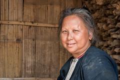 Femme Lanten. Luang Nam Tha. Laos (Thierry Leclerc 60) Tags: asia sing asie tribe laos minority tribu natives luangnamtha muang lanten tribue minorit eos70d tainoir