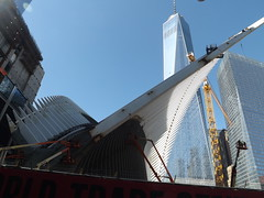 World Trade Center Transit Hub, Santiago Calatrava, Architect, One World Trade Center, Lower Manhattan, New York City (lensepix) Tags: newyorkcity skyscraper lowermanhattan santiagocalatrava newyorkarchitecture santiagocalatravaarchitect newyorkskyscraper oneworldtradecenter worldtradecentertransithub