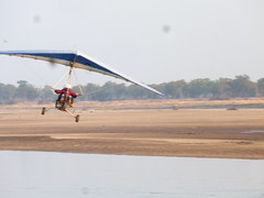 Microflight over Luangwa