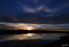the shades of dusk (~ Mariana ~) Tags: friends light sunset sky reflection calgary clouds landscape nikon dusk mariana chinookwind saariysqualitypictures travelsofhomerodyssey outstandingromanianphotographers marculescueugendreamsoflightportal