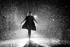 Crazy Rainy Self Portrait (Ilko Allexandroff / イルコ・光の魔術師) Tags: portrait bw selfportrait rain japan self crazy rainy keanu reeves strobe nissin strobist ストロビスト ilkoallexandroff イルコ