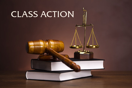 Mismas Law Firm | The words class action over law books, a gavel, and the scales of justice | Image source: http://www.miamiok.com/news/article_4834e4ac-0fd9-5183-b1e2-e5eeb0fcb0ae.html