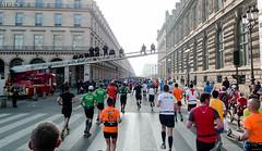 Marathon Paris 2015 by Laurent TINE Pompiers de paris rue de rivoli (Laurent Tine : Gu