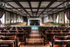 The Hall  I (Michis Bilder) Tags: hall urbanexploration hdr hdri urbex lostplace