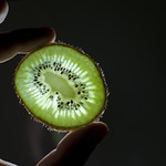 "A sliced kiwifruit<a href=""http://www.flickr.com/photos/28211982@N07/17044266755/"" target=""_blank"">View on Flickr</a>"