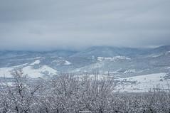Snow White (Dimensionall) Tags: winter panorama snow mountains beautiful
