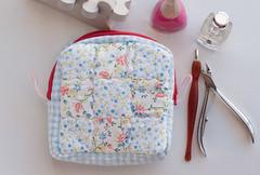 Ncessaire  /  Toilet Bag (Canela Cheia) Tags: travel bag nine toilet patch patchwork bolsa necessaire telmovel