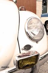 Kaf002 (Andrew Pataki/prodigalphoto.com) Tags: history car vw volkswagen outdoor beetle headlights front german oldtimer 1965 foglights