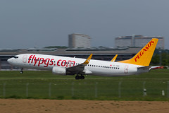 Pegasus Airlines Boeing 737-82R TC-AMP-4 (No_Water) Tags: de pegasus boeing airlines badenwrttemberg edds filderstadt tcamp sttuttgart 73782r