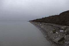 High Tide (me'nthedogs) Tags: mist beach somerset hightide doniford