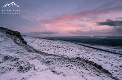 A Frozen Landscape (.Brian Kerr Photography.) Tags: sunset snow cold ice landscape frozen lakes lakedistrict cumbria edenvalley cumbrian hartsidepass briankerrphotography sonyuk