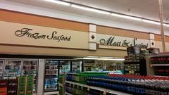 FroZen Seafood (Retail Retell) Tags: kroger grocery store clarksdale ms retail script décor greenhouse build